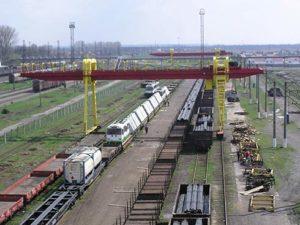 Il terminal privato di CHOP (UKR) dove avvengono i trasbordi sotto il nostro diretto controllo , con certificazione e fotografie di un perito SGS